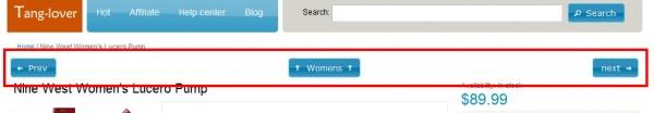 magento产品详细页返回分类链接,上一个下一个产品链接