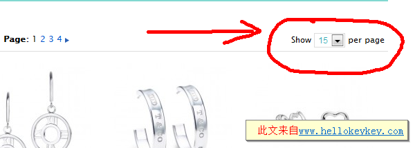 magento产品显示数量