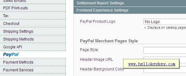 Magento去除侧边栏paypal标志设置