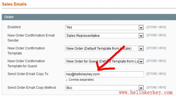 magento订单邮件提醒